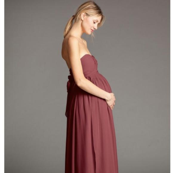 5706a3c54e3 Jenny Yoo Cerise Maternity Gown